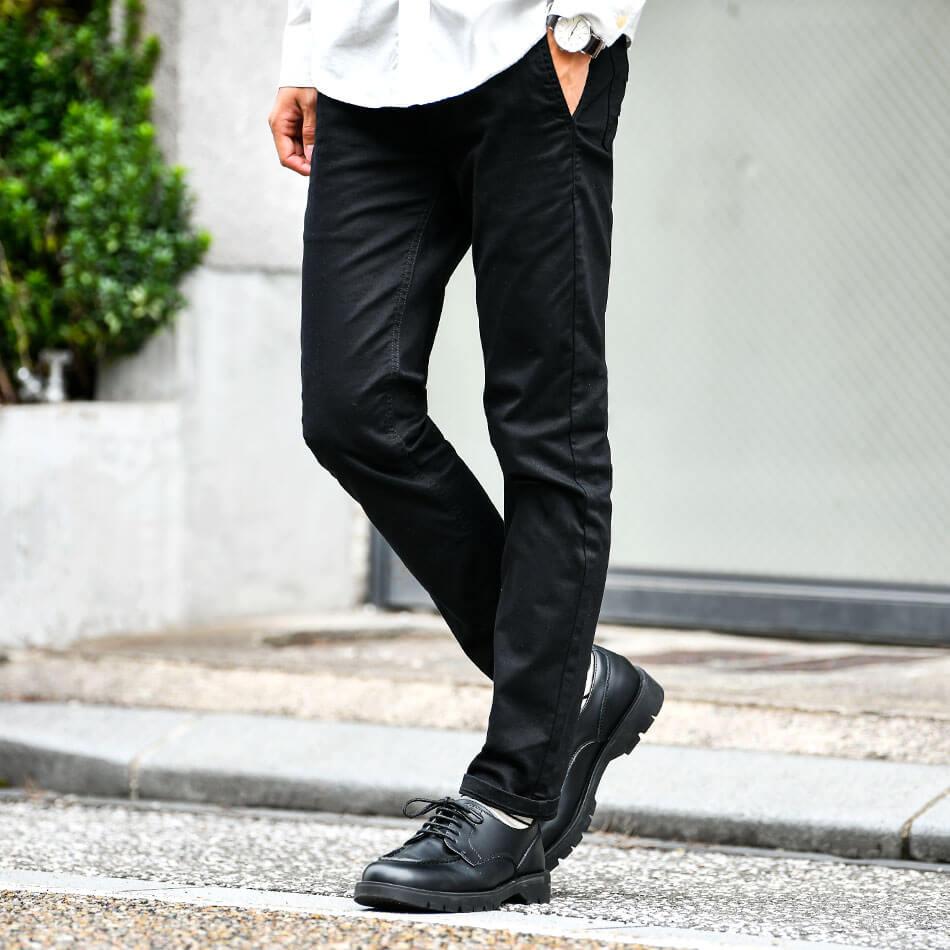 Dcolle-黒スキニー