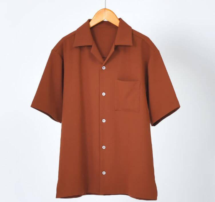 dcollection_オープンカラーシャツ